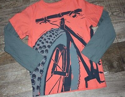 Tea Collection Mountain Bike Shirt Size 7