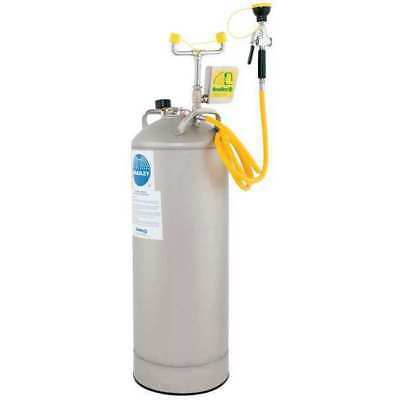 Portable Eye Wash w/ Drench Hose,10 gal.