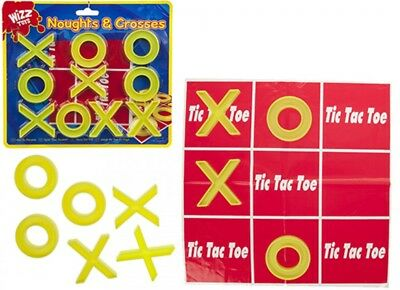 Travel Naughts And Crosses Play Mat Traditional Childrens Game Family Games Kids