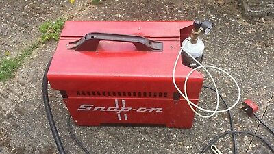 Snap On 130 Turbo Mig Welder With Reel Of 0.6 Wire And Gas Bottle Working Good