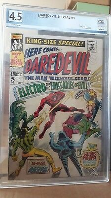 Marvel_King Size Special Daredevil Annual_#1 PGX 4.5 VG+_Sept  1967_cents
