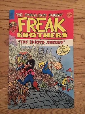 Fabulous Furry Freak Brothers #8 The Idiots Abroad
