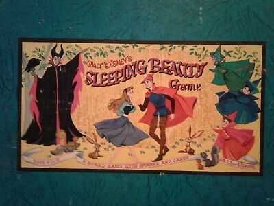 "Disney ""Sleeping Beauty"" Gameboard, 1958."