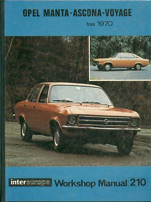 opel manta a coupe 1 6 1 9 litre 1970 owners workshop manual rh picclick fr Ascona Danville Ascona Optical Comparator