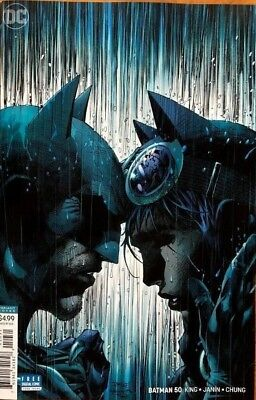 BATMAN #50 JIM LEE VARIANT COVER DC Comics 2018 NM