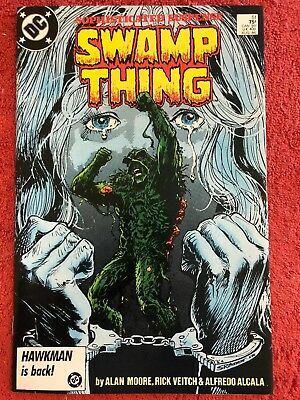 Swamp Thing 51 DC Lot of 1 1986 Moore Veitch Alcala Bissette