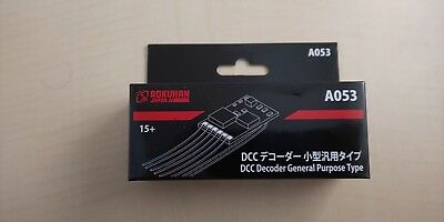 Z scale DCC Decoder Small General Purpose Type A053 Model