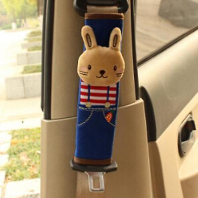 1 PC Cute Cartoon Car Safety Seat Belt Cover Child Shoulder Pads Protection 6L