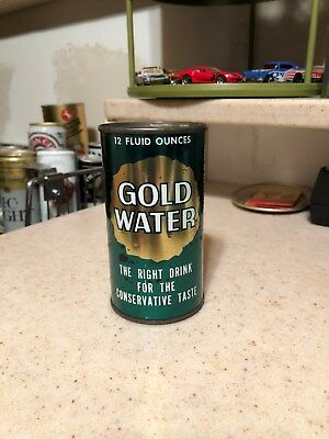 """gold Water"" Flat Top Soda Can ~ Baltimore, Maryland."