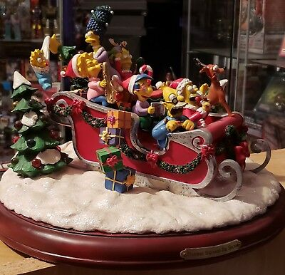 Simpsons Christmas sleigh