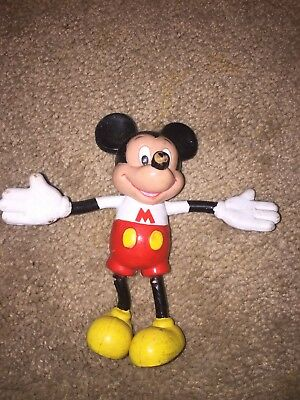 Mickey Mouse Old Toy stretches / flexible