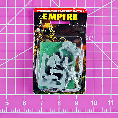 Warhammer Empire Mounted Amber Wizard NIB Metal Rare OOP Games Workshop Citadel