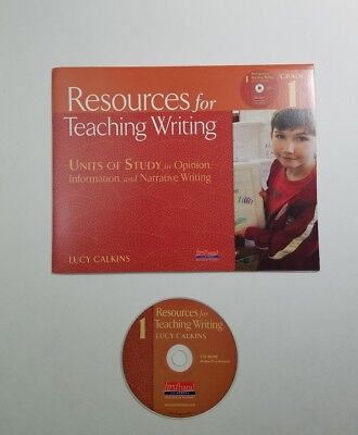 Lucy Calkins Grade 1 Resources for Teaching Writing Units of Study CD-ROM   D