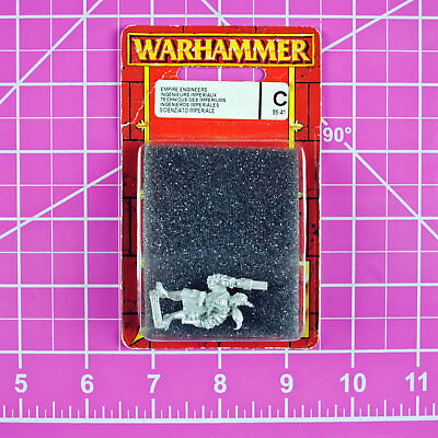 Warhammer Fantasy Empire Engineer NIB Metal - Rare OOP - Games Workshop Citadel