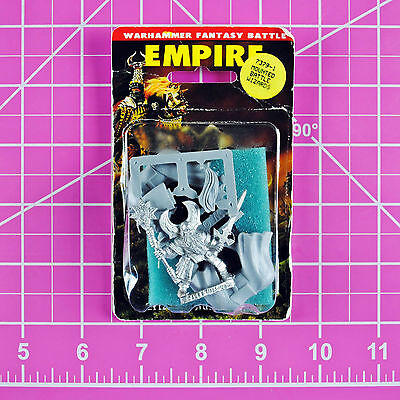 Warhammer Empire Mounted Celestial Wizard NIB Metal, OOP Games Workshop Citadel