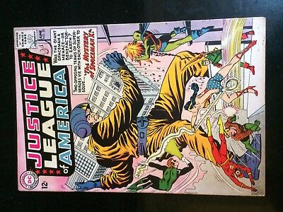 JUSTICE LEAGUE of AMERICA #20 (DC) SPACEMAN X Sachs-a Anderson-c Key MOVIE 1962!