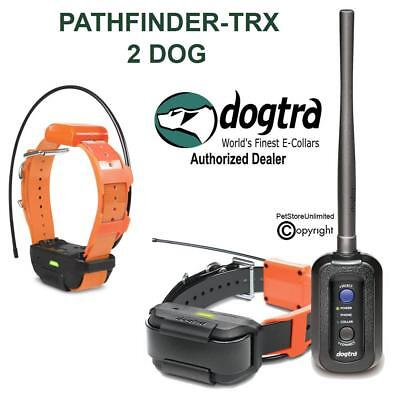 Dogtra PATHFINDER TRX GPS 2 DOG Tracking ONLY Bundle 9-mile Expands To 21 Dogs