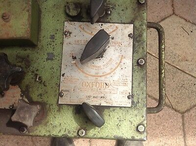 oxford oil cooled arc welder single or 3 phase