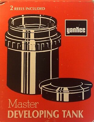 Vintage Yankee Standard  Film Developing Tank With Box