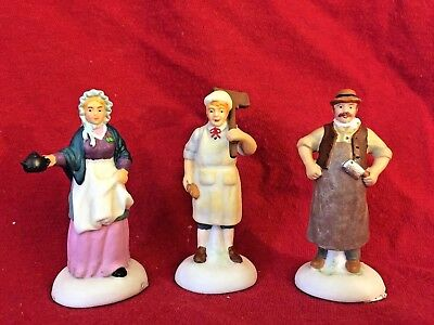 Dickens Shopkeepers Dept 56 Dickens Village Accessory 807229 Christmas city A