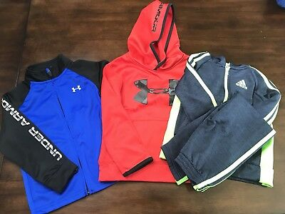 Toddler Boys Under Armour 4t Jacket Sweatshirt Adidas Jumpsuit Lot Free Shipping