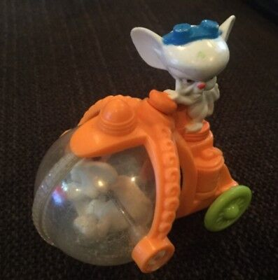 Pinky and the Brain figure experiment in progress rolling toy