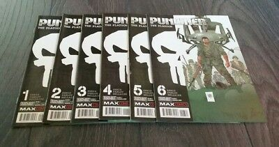 Punisher The Platoon issues 1 to 6