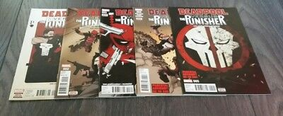 Deadpool versus The Punisher issues 1 to 5