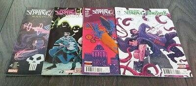 Doctor Strange The Punisher Magic Bullets issues 1 to 4