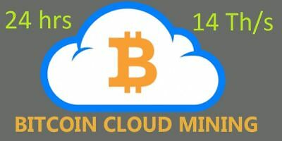 Antminer S9 14 TH/s 24-Hour Mining Contract for SHA-256 Bitcoin