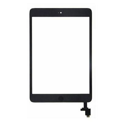 Apple iPad Mini 1 & 2 BLACK Touch Screen Front Glass Display Digitizer IC Cable