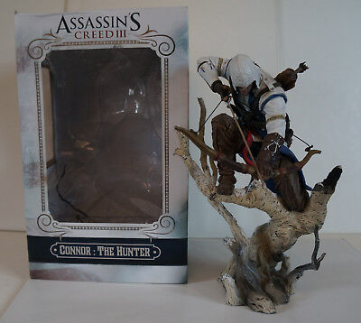 Assassins Creed 3 III Connor: the Hunter. Statue Figur in sehr gutem Zustand