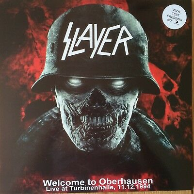 Slayer Welcome to Oberhausen 1994 rare 2 LP Test Pressing