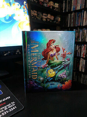Disney The Little Mermaid Blu-ray/DVD Target Exclusive DigiBook 32p Storybook