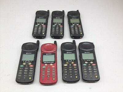 Lot of 7 Vintage Qualcomm QCP 860 AS IS | PH537
