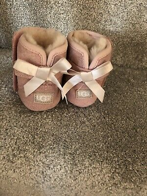 Infant UGG Jesse bow Boots 2 Pink With Box