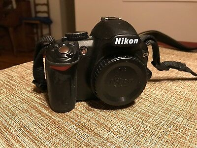 Nikon D3100 Digital SLR Camera - (Body Only) With Neck Strap -Shutter Count 5672