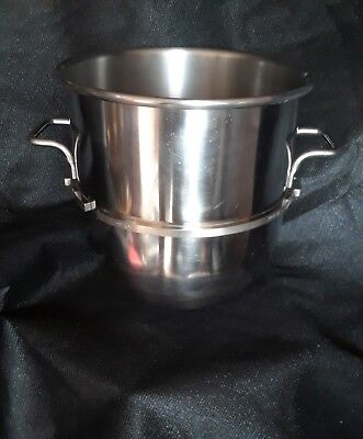 HOBART  D40 Stainless Steel 40 Quart Mixing Bowl Minty