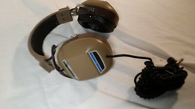 Vintage 70s Koss K/6A Headphones Dynamic Stereophone Headset Stereophonic