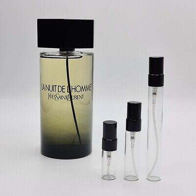 LA NUIT DE L'HOMME by YSL- EDT - 2ml or 5ml Sample - 100% GENUINE