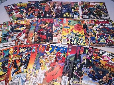 X-Men Age Of Apocalypse Near-Complete 42 iss lot Amazing 1 - 4 Weapon X Gambit