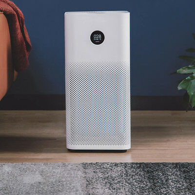 Xiaomi Mi Air Purifier 2S OLED Home Smart APP Smoke Dust Peculiar Smell Cleaner
