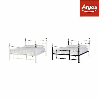 Argos Home Jayna Metal Bed Frame - Choice of Size and Colour.