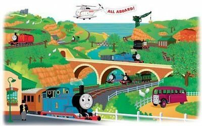 Thomas Train Removable Giant Decal Peel & Stick Sticker Kid Bedroom Wall Art