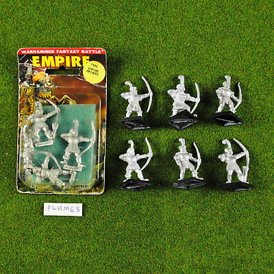 Warhammer Fantasy Empire Archers NIB Metal - OOP - Games Workshop Citadel Archer