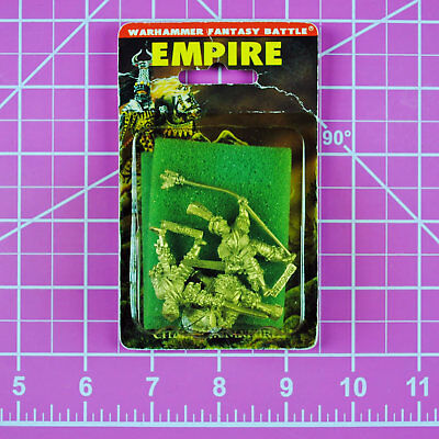 Warhammer Empire Command NIB Metal - Rare & OOP - Games Workshop Classic Citadel