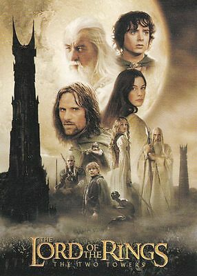 LOTR Two Towers Update Trading Card Set (72 Cards)