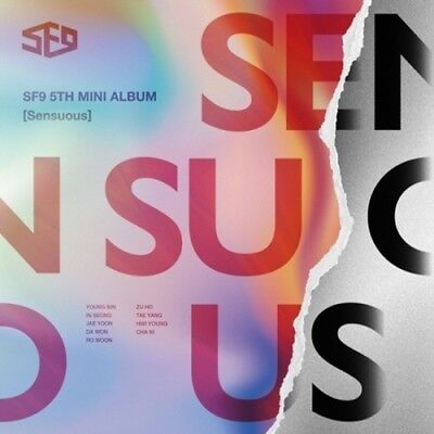aSF9-[Sensuous]5th Mini Album Exploded Ver CD+Poster+Booklet+Card+Gift+Tracking