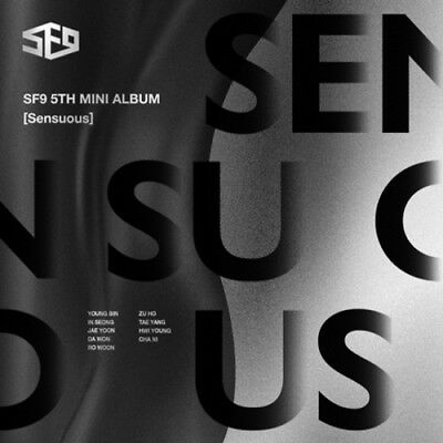 SF9-[Sensuous]5th Mini Album Hideen Ver CD+Poster+Booklet+Card+Gift+Tracking