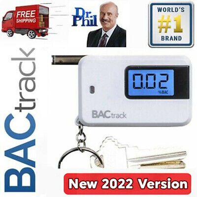Breathalyzer. Alcohol Tester - BACtrack Go Keychain. MICROCHECK® SEMI-CONDUCTOR